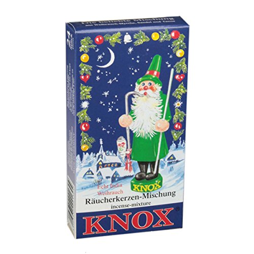 KNOX Variety of Holiday Scented Incense Cones, Pack of 24, Made in Germany (Variety Incense Cones compare prices)