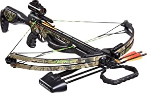 Barnett Jackal Crossbow Package (Quiver , 3 - 20-Inch Arrows and Premium Red Dot... by Barnett Crossbows