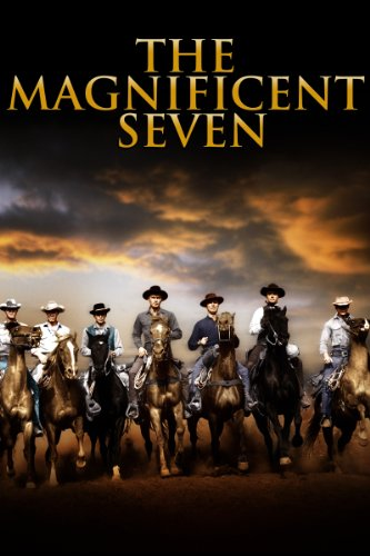 the magnificent seven yul brynner eli wallach steve mcqueen charles bronson. Black Bedroom Furniture Sets. Home Design Ideas