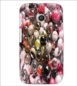 PrintDhaba Pebbles D-4854 Back Case Cover for MOTOROLA MOTO E (Multi-Coloured)