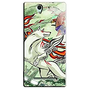 OKAMI BACK COVER FOR SONY XPERIA C5