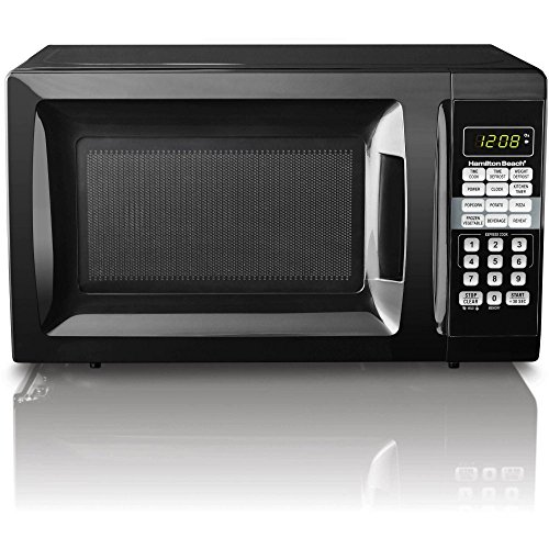 Hamilton Beach 0.7 cu ft Microwave Oven (1, Black) (Microwave Oven Small compare prices)