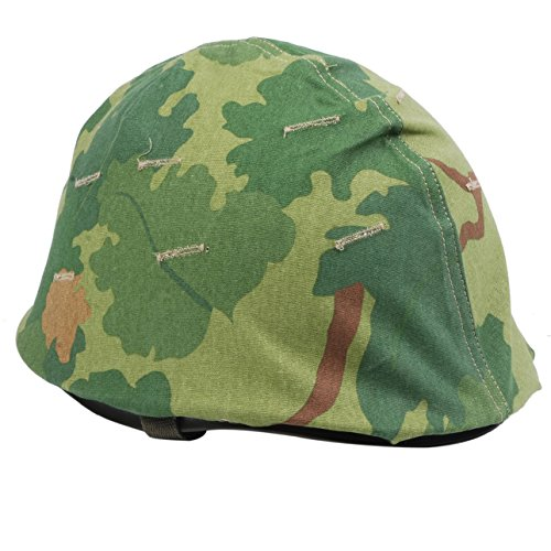 Heerpoint Reproduction Ww2 Wwii Us Army M1 Helmet+Vietnam War US Military Reversible Mitchel Camouflage Helmet Cover