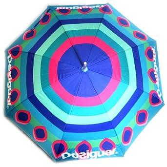 Desigual [K8607] - Parapluie canne 'Desigual' multicolore