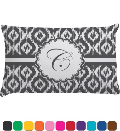 Ikat Personalized Pillow Case - Toddler front-788814