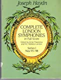 Complete London Symphonies in Full Score, Series 1 (0486249824) by Haydn, Joseph