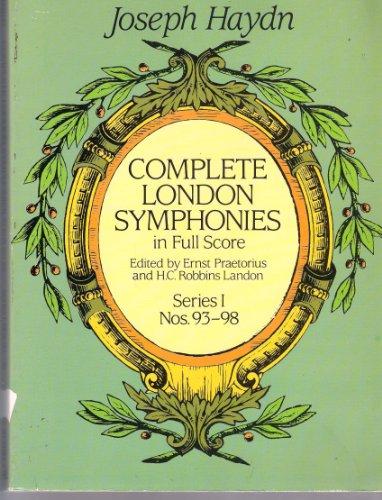 Complete London Symphonies in Full Score, Series 1 (London Symphonies Dover compare prices)