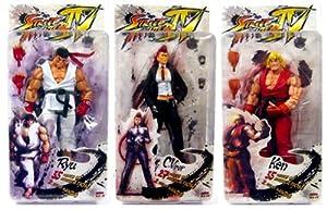 Street Fighter 4 Series 1 Set of 3 Action Figures