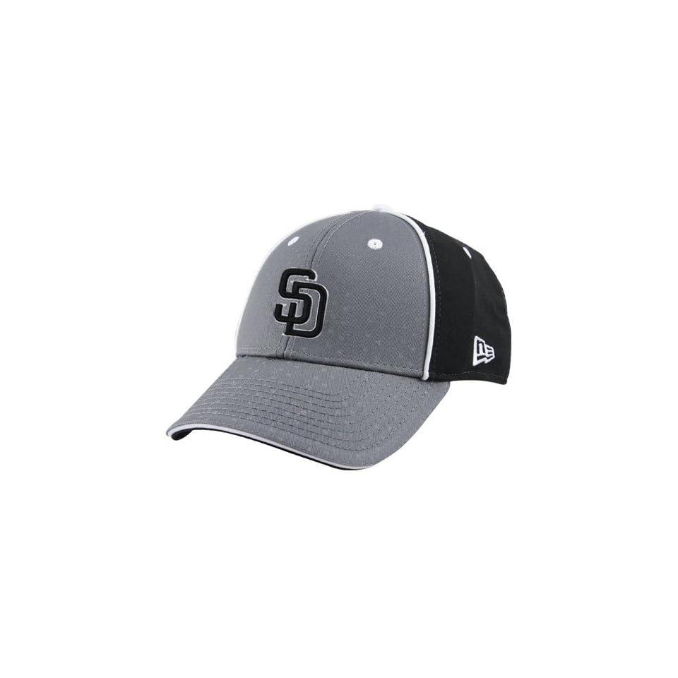 New Era San Diego Padres Grey Fan 2 Fit Hat
