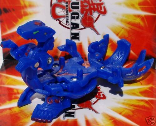 Bakugan Gundalian Invaders Bakuboost Bakucore Blue Aquos Lumagrowl (With DNA ... - 1