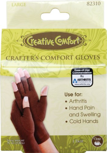 Dritz Crafters Comfort Glove-Large