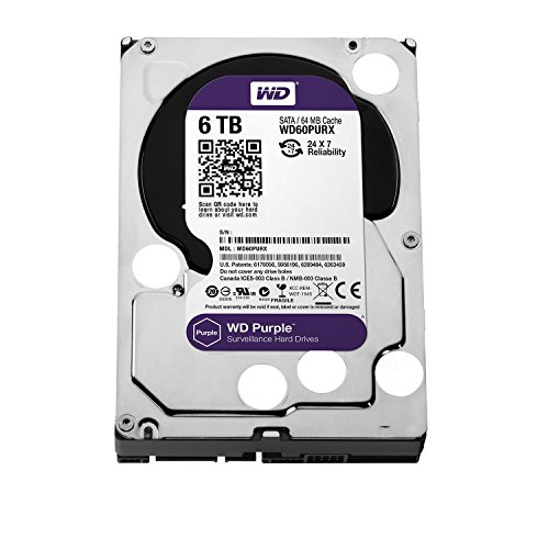 WD Purple 3.5inch IntelliPower 6.0TB 64MBキャッシュ SATA3.0 WD60PURX