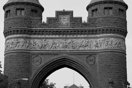 Photography Poster - Soldiers & Sailors Arch In Bushnell Park In Hartford Con...