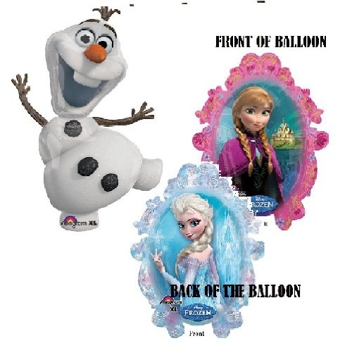 Olaf Supershape Xl and Frozen Sister Supershape Xl Pair (1) - 1