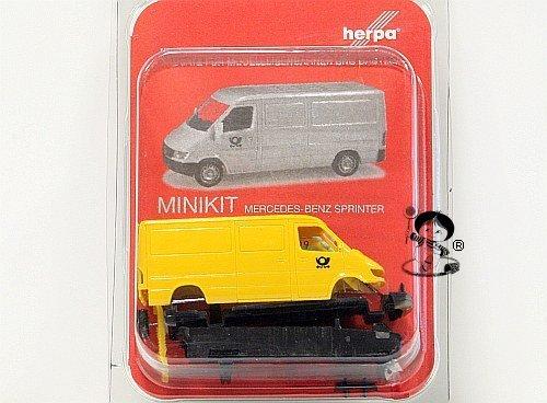 herpa-012577-minikit-mercedes-benz-sprinter-deutsche-post-modello-in-miniatura