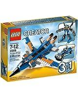Lego Creator - 31008 - Jeu de Construction - L'avion de Chasse