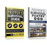 Prepper: Preppers Survival Guide / Prepppers Survival Pantry (2 BOOK SET)  A Quick Start Guide to Safe Survival and Self Sufficient Living (prepping 101, ... for beginners, prepping books, prepper)