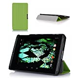 ProCase SlimSnug Case for NVIDIA Shield Tablet, Ultra Slim and light, Hard Shell Cover, with Stand, Exclusive for 2014 NVIDIA Shield 2 Tablet (Green)