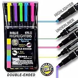 Highlighter-Zebrite Carded
