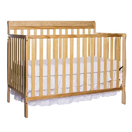 Dream On Me Alissa Convertible 4 In 1 Crib in New Natural