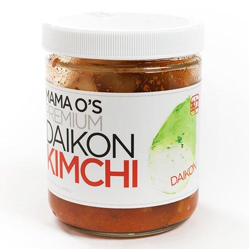 Mama O's Kimchi - Daikon (16 ounce) (Canned Kimchi compare prices)