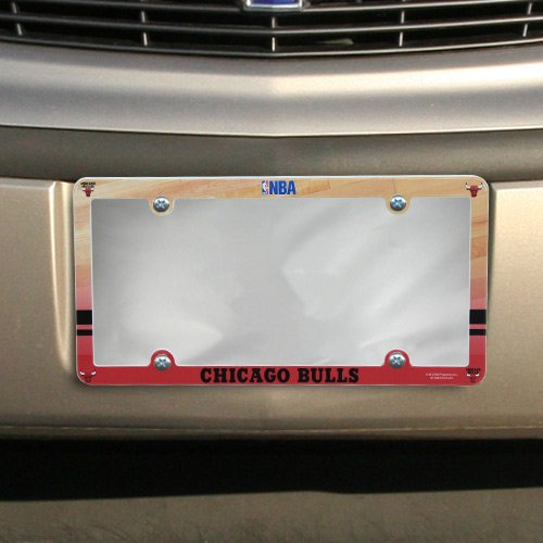 NBA Chicago Bulls Court Plastic License Plate Frame
