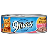 9Lives Tender Morsels With Real Salmon In Sauce