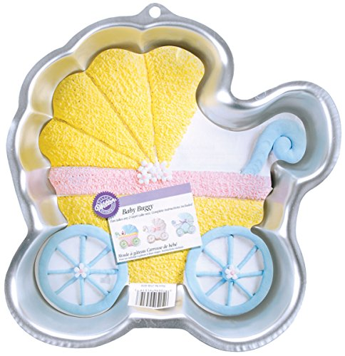 Wilton BABY BUGGY Cake Pan Party Shower; w/Insert carriage (Baby Buggy Pan compare prices)