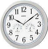 DAILY (デイリー) 掛け時計 温度表示 湿度表示 コンフォルジュ 4KGA03DA19