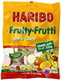 Haribo Fruity Frutti, 4-Ounce Bags (Pack of 12)