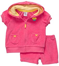 Carter\'s Quick & Cute Cardigan Set - Pink-18 Months
