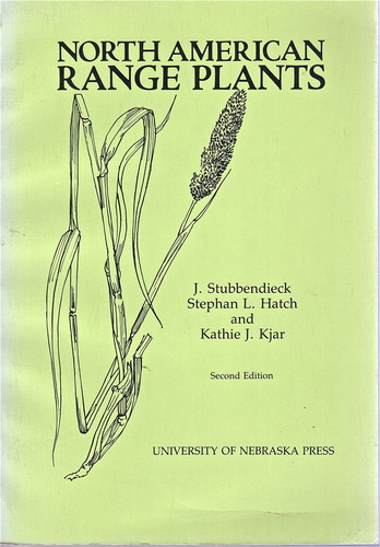 North American Range Plants, Stubbendieck, James; Hatch, Stephan L.; Kjar, Kathie J.