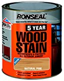 Ronseal 5 Year Woodstain 750ml Natural Pine