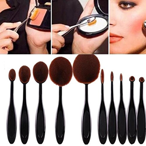 Bestpriceam-10-pcs-Makeup-Brush-Cosmetic-Foundation-Cream-Powder-Blush-Makeup-Tool
