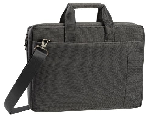 """Rivacase Stylish Nb Tasche Riva 8231 15,6"""" Grey With Padded Compartment For Extra Protection"""