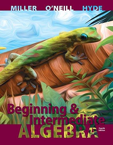 Beginning and Intermediate Algebra with ALEKS 52 Week Access Card