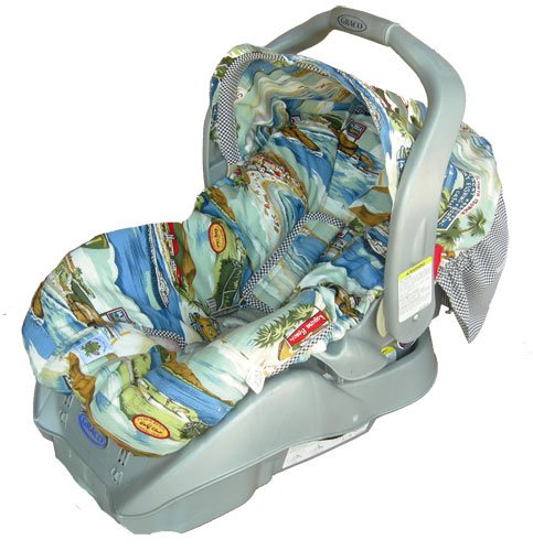 Fleece Baby Car Seat Covers