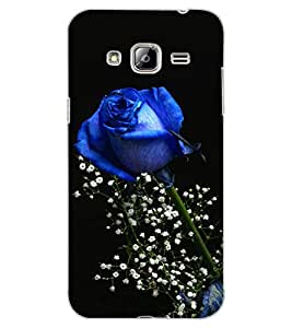 ColourCraft Lovely Rose Design Back Case Cover for SAMSUNG GALAXY J3
