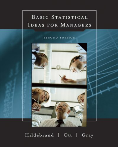 Basic Statistical Ideas for Managers, 2nd Edition (with...