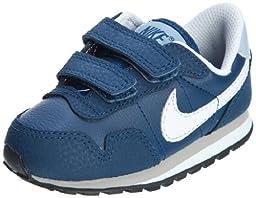 NIKE Baby Metro Plus Walking Shoes TDV (6 M US Toddler, Navy)