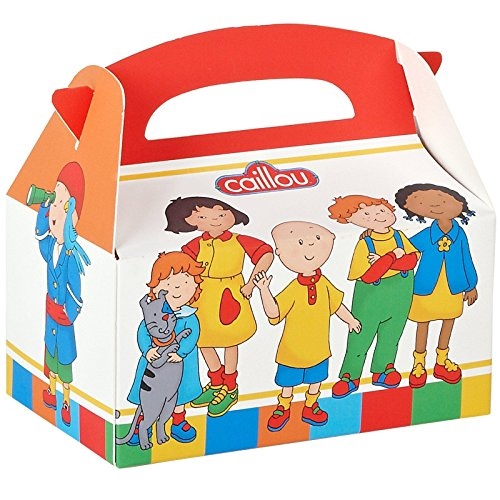 Party Destination Caillou Empty Favor Boxes (4)