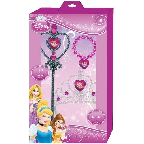 Amazon.com: Disney Princess Tiara, Wand and Bracelet Set