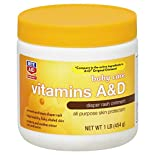 Rite Aid Pharmacy Diaper Rash Ointment, Vitamins A & D, 1 lb (454 g)