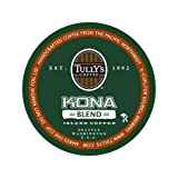 Tully's Coffee Kona Blend Extra-Bold, 24-Count K-Cups for Keurig Brewers (Pack of 2) ~ Tully's Coffee