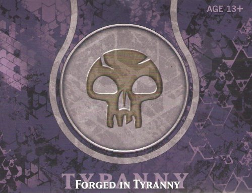 Magic The Gathering Journey Into Nyx Prerelease Pack - Black (6 Booster Packs) Forged Of Tyranny (Possible Divine Gift???) front-254397