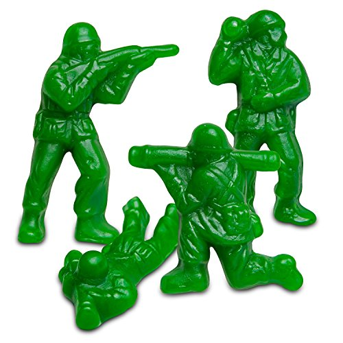 Albanese Green Army Guys / 2 Pounds
