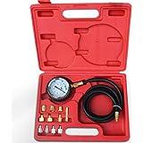 13-teiliges Öldruckmesser Set inkl. 11 verschiedener Adapter und Transportkoffer Kompressionsprüfer