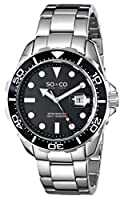 SO&CO York Men's 5042.1 Yacht Club Analog Display Japanese Quartz Silver Watch from SO&CO New York