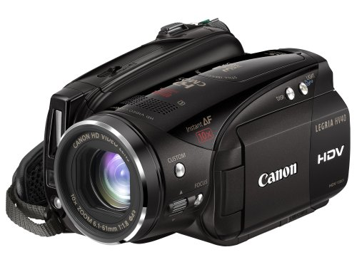 Canon LEGRIA HV40 High Definition Digital Camcorder - Black (10x Optical Zoom, 2.7 Inch Widescreen Colour LCD)
