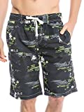 Men's Beach Shorts Swim Trunks Swimwear Shorts Beach Pants Board Shorts